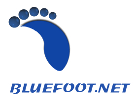 BlueFoot.net Logo
